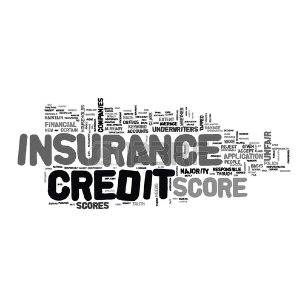 Insurance Premium and Your Credit Score